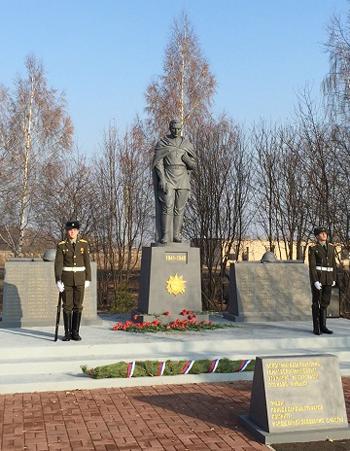 Мемориальный комплекс с крестом Профсоюзная Эконом памятник Арка Соликамск